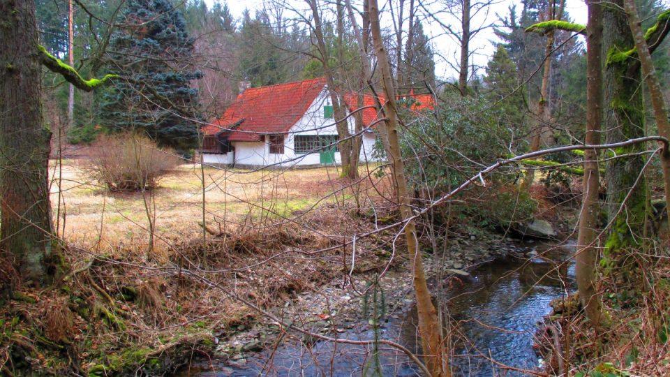 Werichova chata u Velhartic