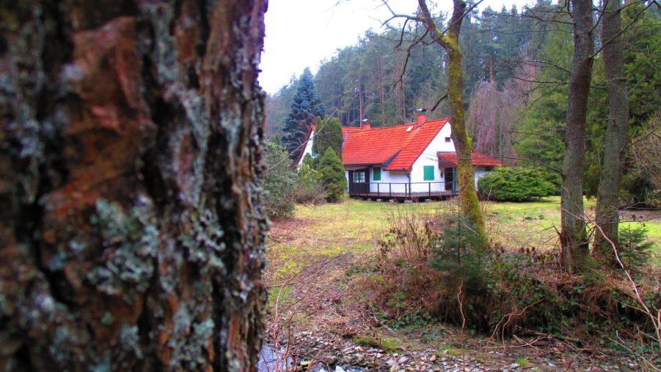 Werichova chata v malebném údolí