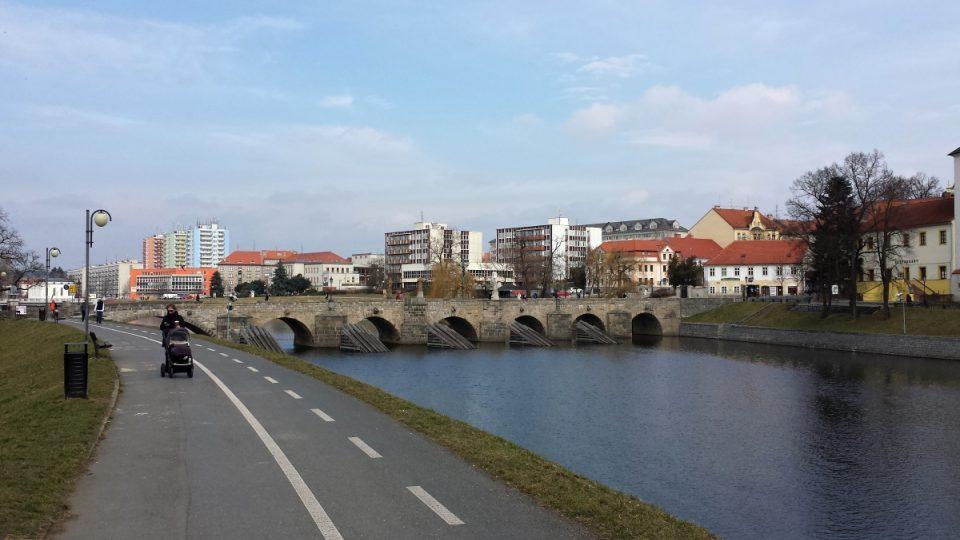 Písecký most - od jihu