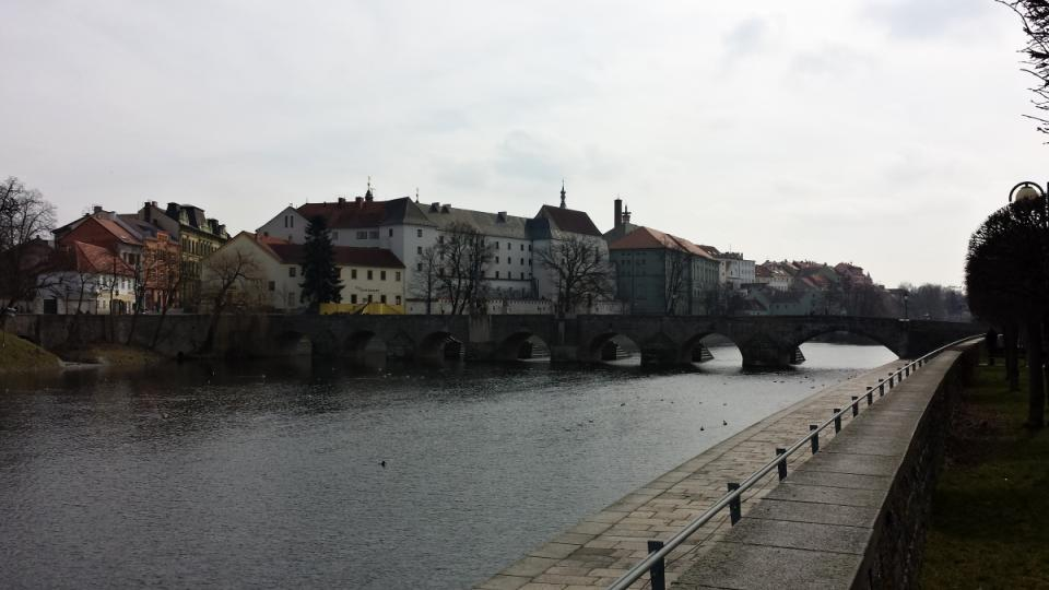 Písecký most - od severu