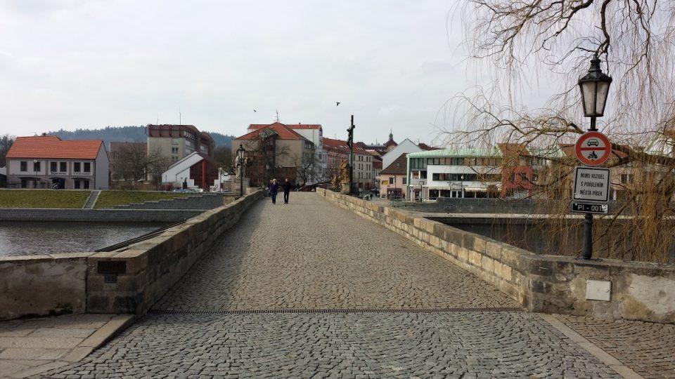 Písecký most - směrem k portyči