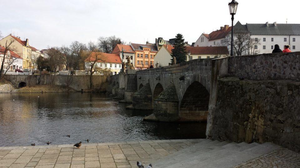 Písecký most - zespodu