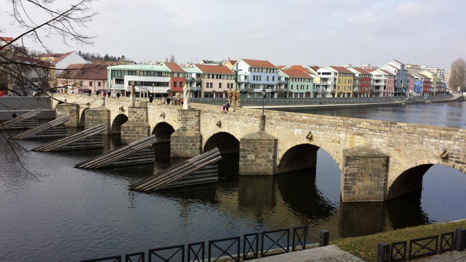 Písecký most - zvrchu