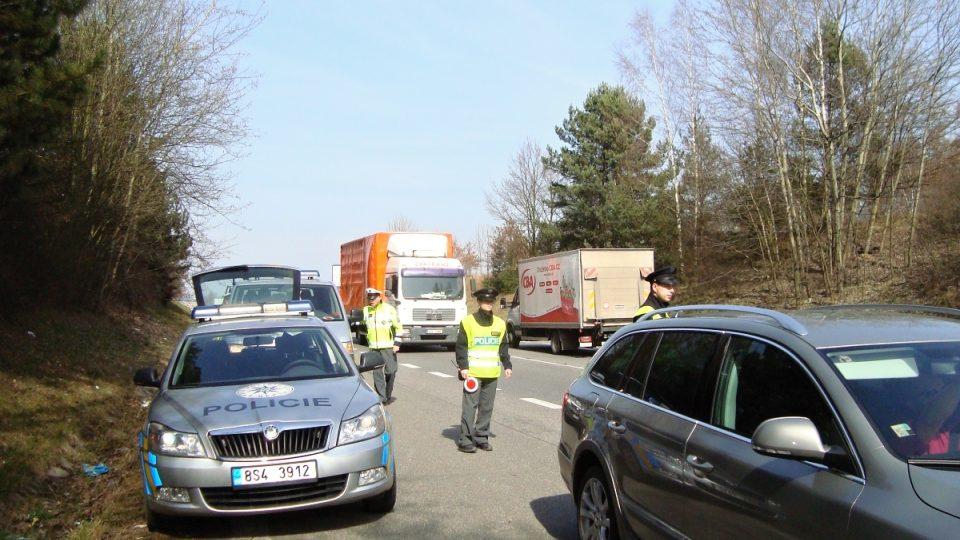 I/3 je po dálnici D1 nejrušnější komunikací na Benešovsku. Proto se na ní policisté zaměřují