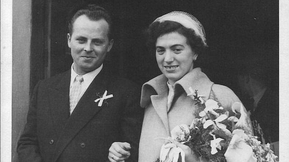 Černobílý den - svatební fotografie
