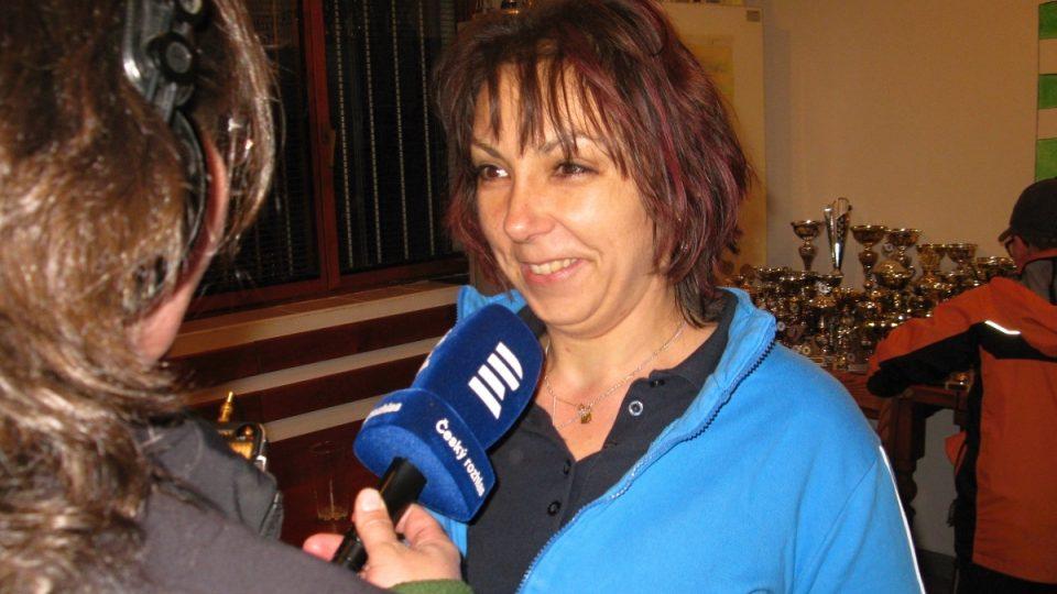 Gabriela Hovorková, hasička a rozhodčí
