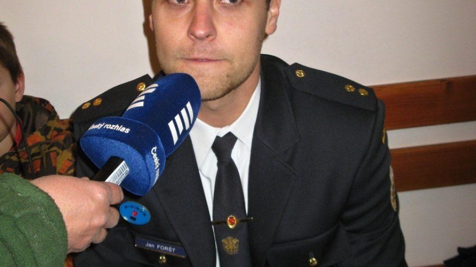 Jan Fořt, vedoucí mládeže