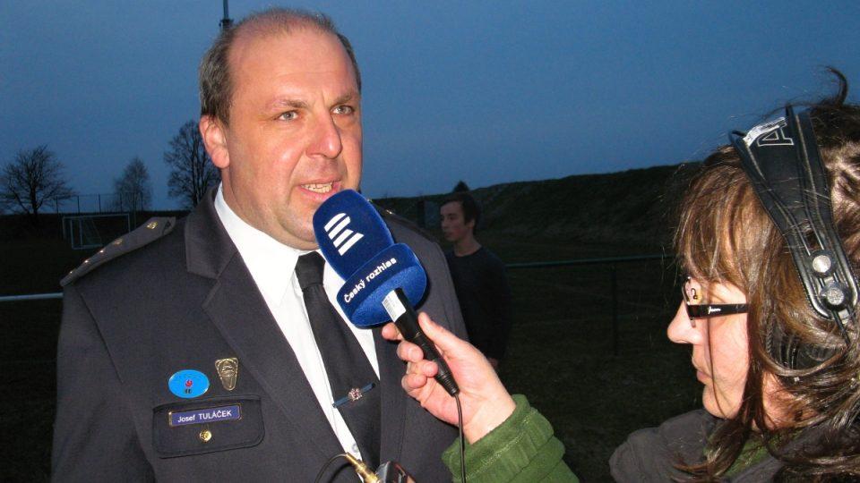 Josef Tuláček, starosta SDH