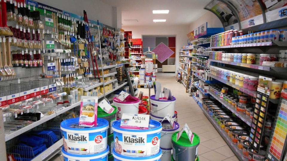 Obchod s malířskými potřebami