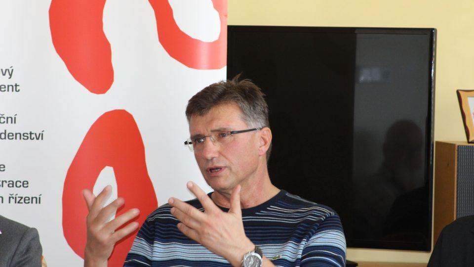 Ředitel Domova seniorů POHODA Jiří Floder