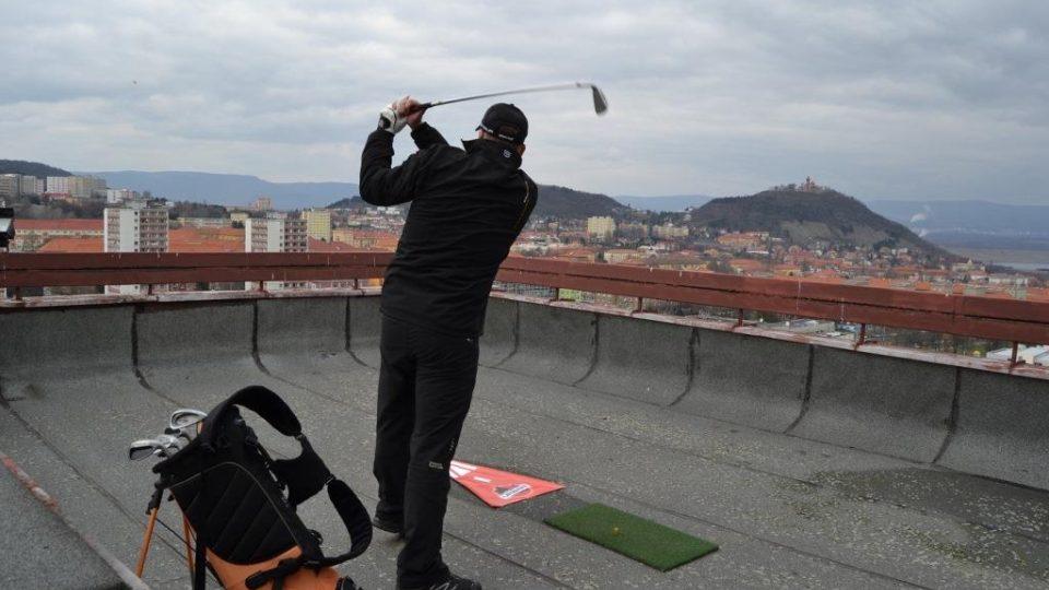 Urban-golf v Mostě