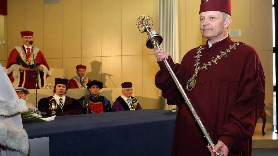 Miroslav Holeček, rektor Západočeské univerzity v Plzni
