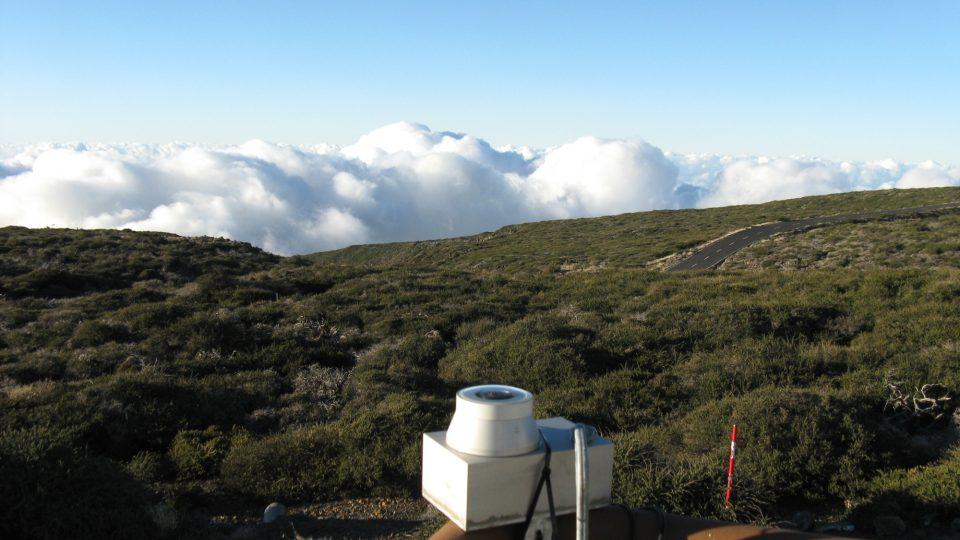 La Palma - observatoř Roque-de-los-Muchachos