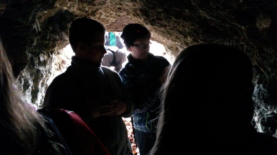 V podzemí kunínské obory