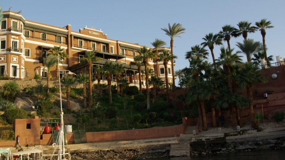 Hotel Old Cataract z Nilu