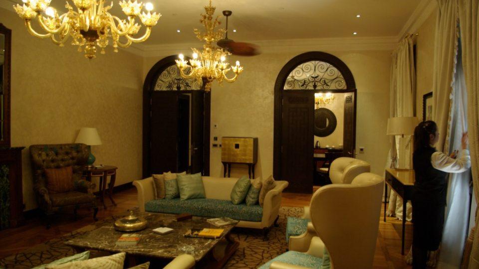 Apartmán, kde pobývala Agatha Christie