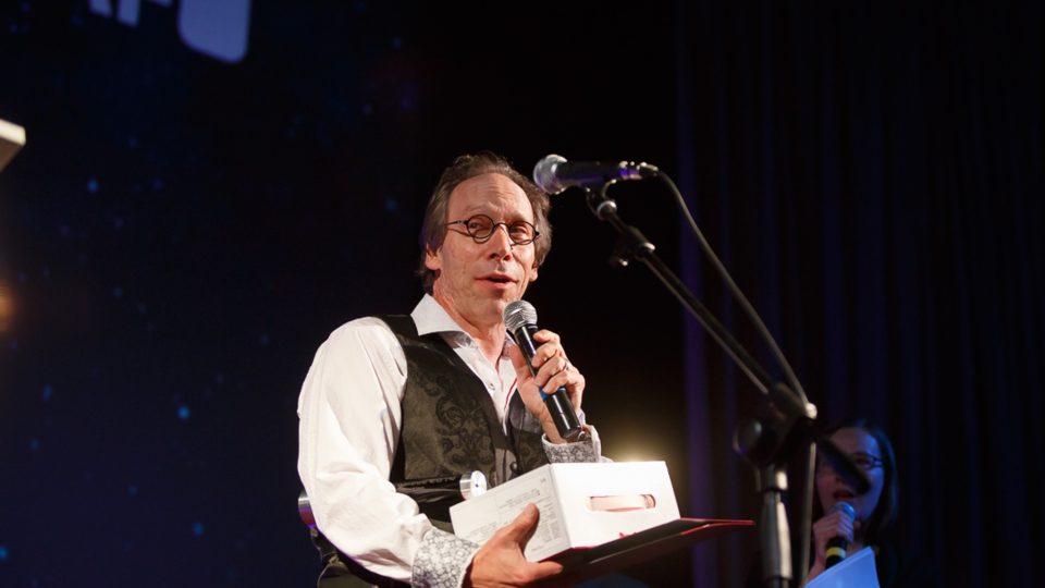 Lawrence Krauss na Slavnostním předání cen