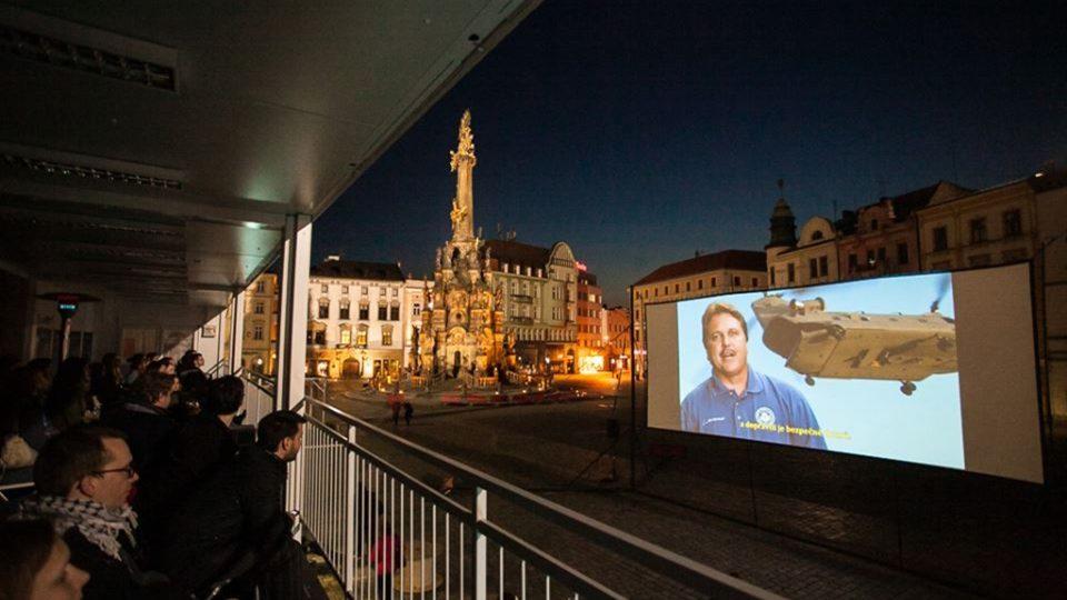 Projekce pro veřejnost na Horním náměstí