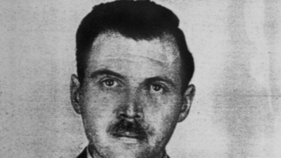 Josef Mengele, německý důstojník SS