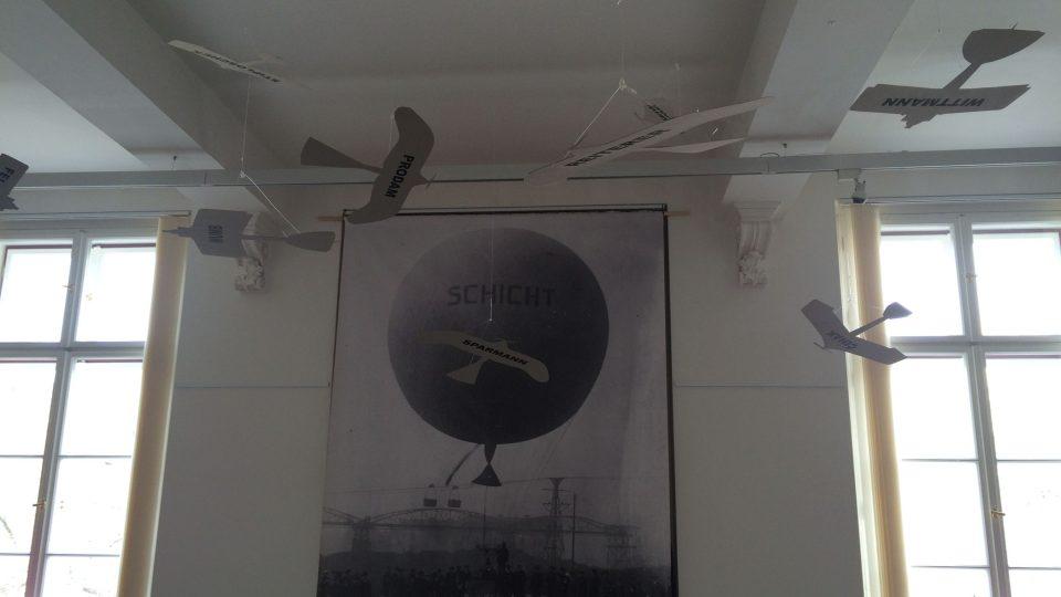 Výstava Schichtův let v Muzeu města Ústí nad Labem