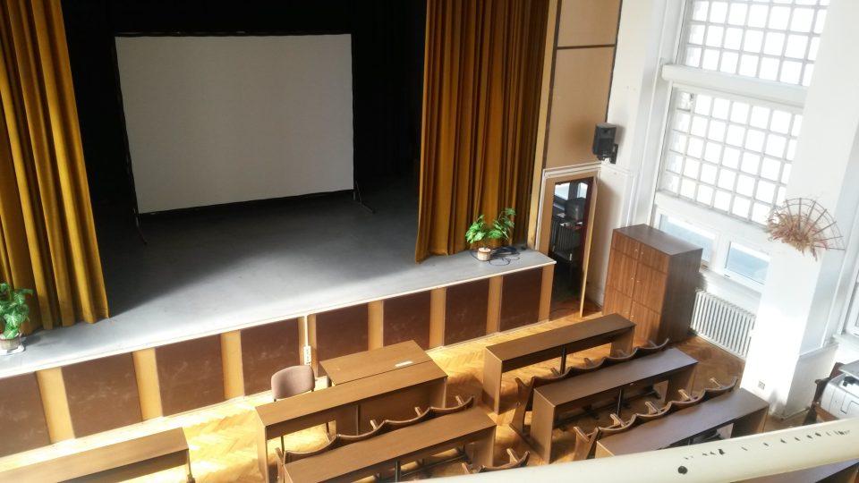 Vyšší odborná škola zdravotní a střední zdravotnická škola na třídě 5. května - kinosál