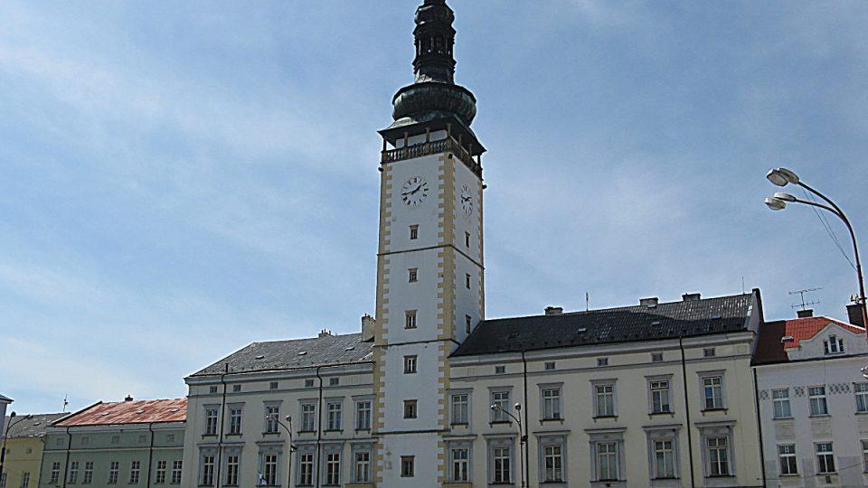 Litovelská radnice s věží