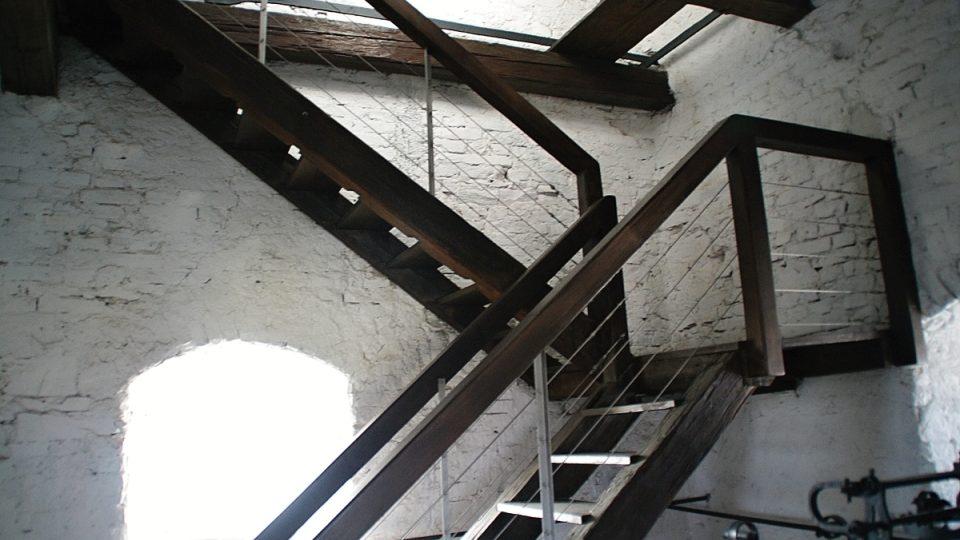 Výstup na věž obnáší 174 schodů
