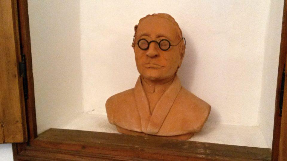 Busta Johanna Gregora Mendela