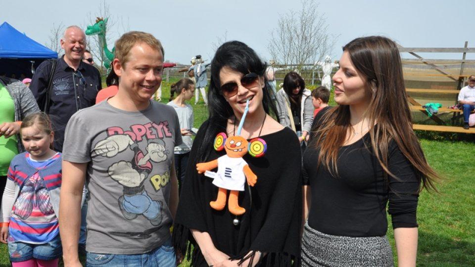 Jiří Kohout, Ušoun Rušoun, Lucie Bílá a Klára Nováková