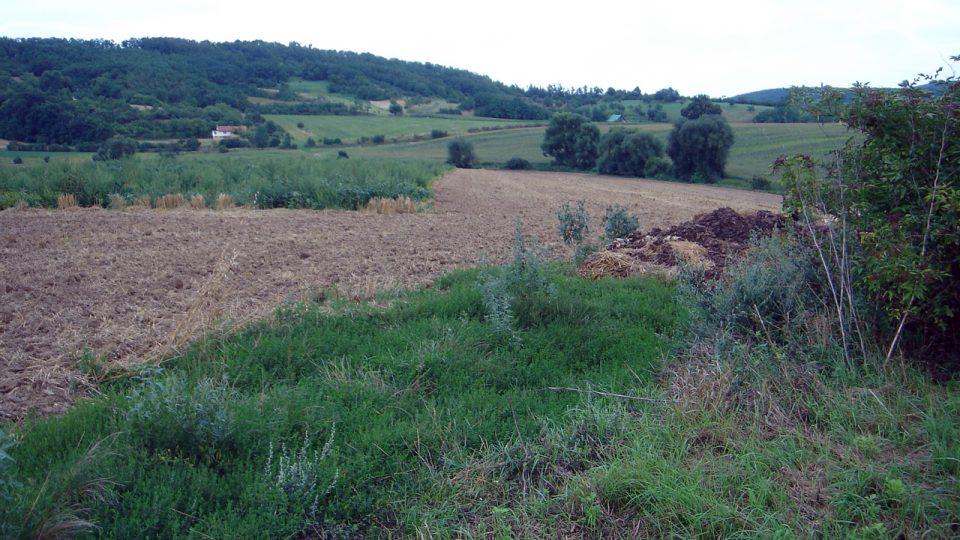 Přímým svědkem je dnes jen tichá krajina kolem Ivančic
