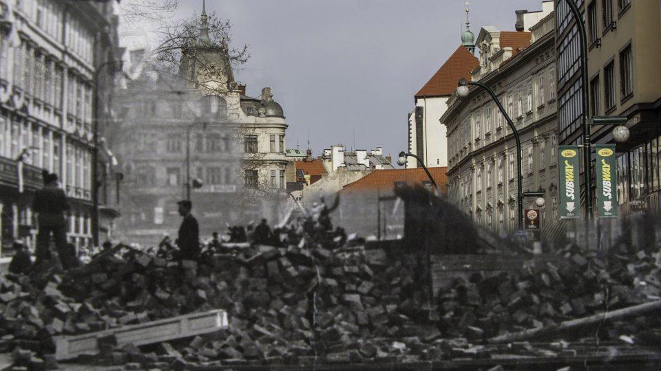 Pražané během povstání umírali na místech, která třeba denně míjíte: Národní, Praha 1