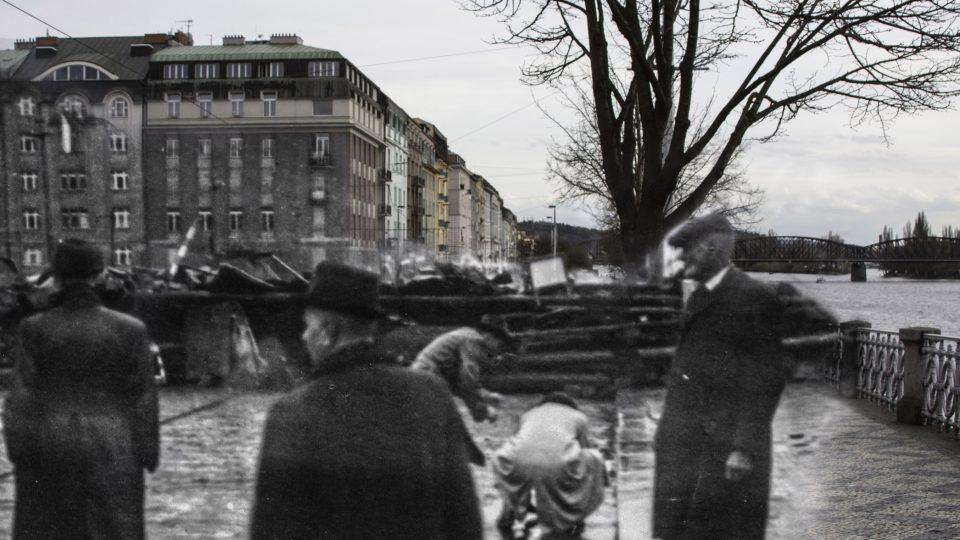 Pražané během povstání umírali na místech, která třeba denně míjíte: Rašínovo nábřeží u Palackého mostu, Praha 5