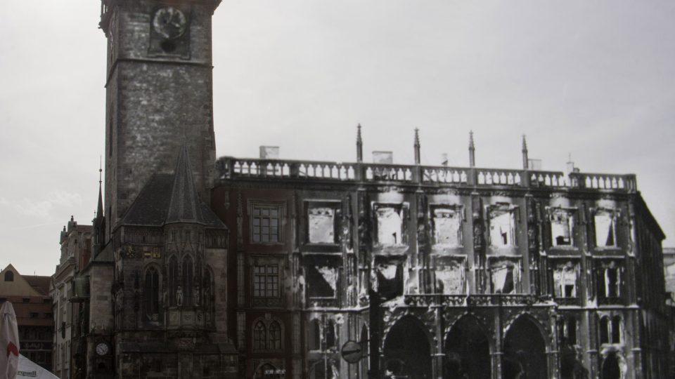 Staroměstská radnice Pražské povstání