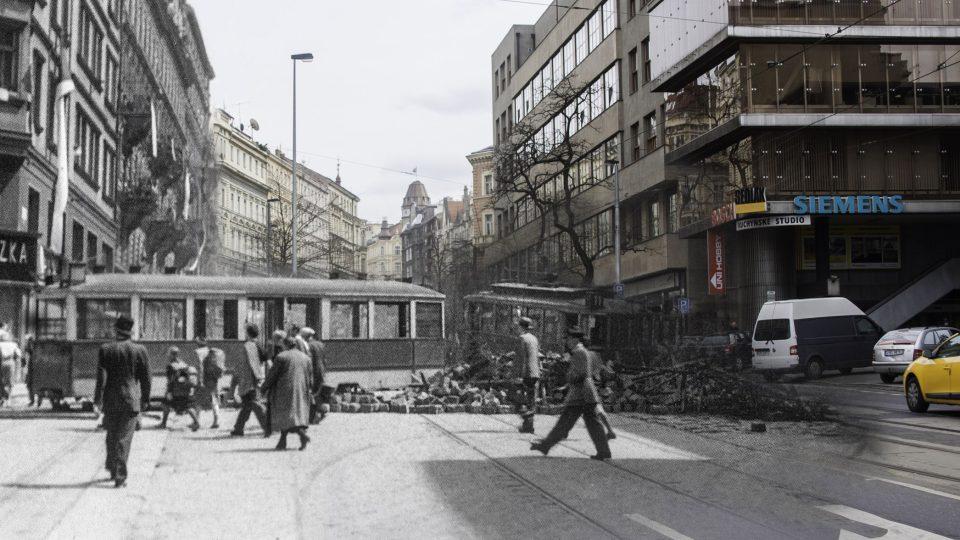 Pražané během povstání umírali na místech, která třeba denně míjíte: Vinohradská u rozhlasu, Praha 2