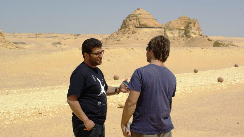 Paleontolog Muhammad Sámih pracuje v Údolí velryb už několik let