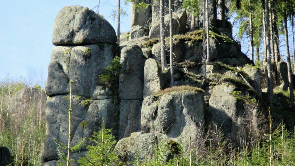 Znovuobjevené skalní městečko pod Šišákem na Kraslicku