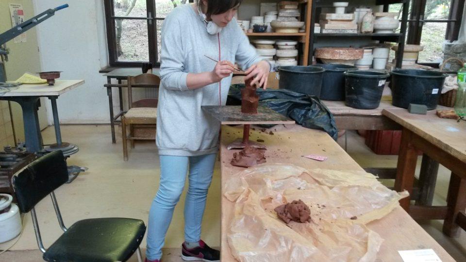Mizející řemesla připomíná nové centrum Střední uměleckoprůmyslové školy svaté Anežky v Českém Krumlově