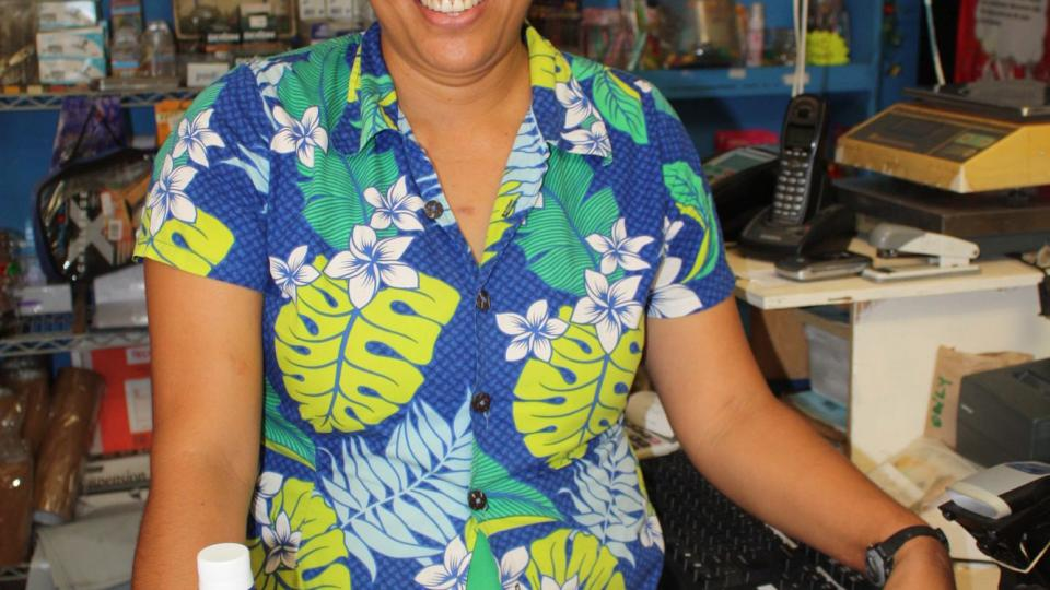 Cookovy ostrovy - obchod na Aitutaki