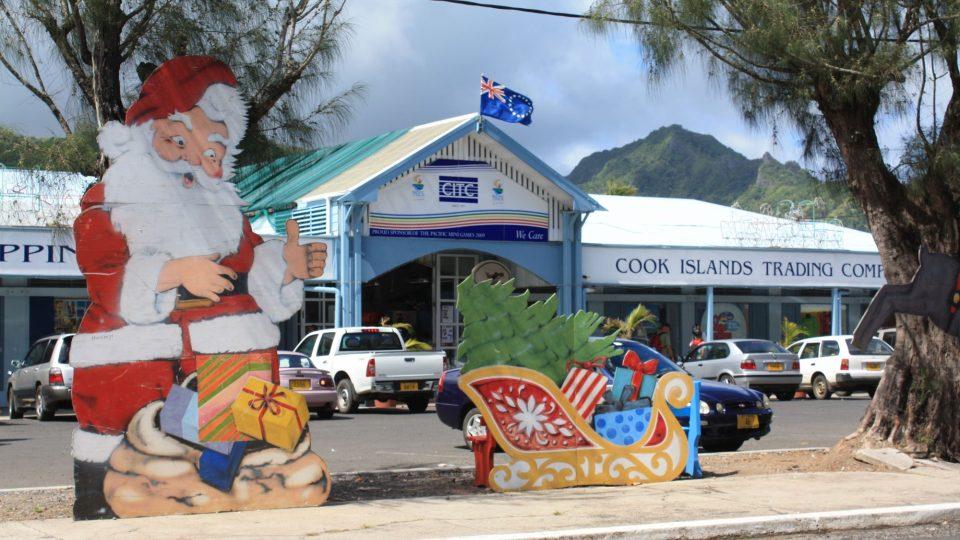 Cookovy ostrovy - předvánoční Rarotonga