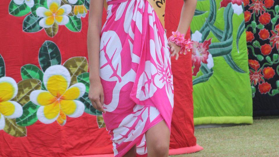 Cookovy ostrovy - volba Miss Rarotonga