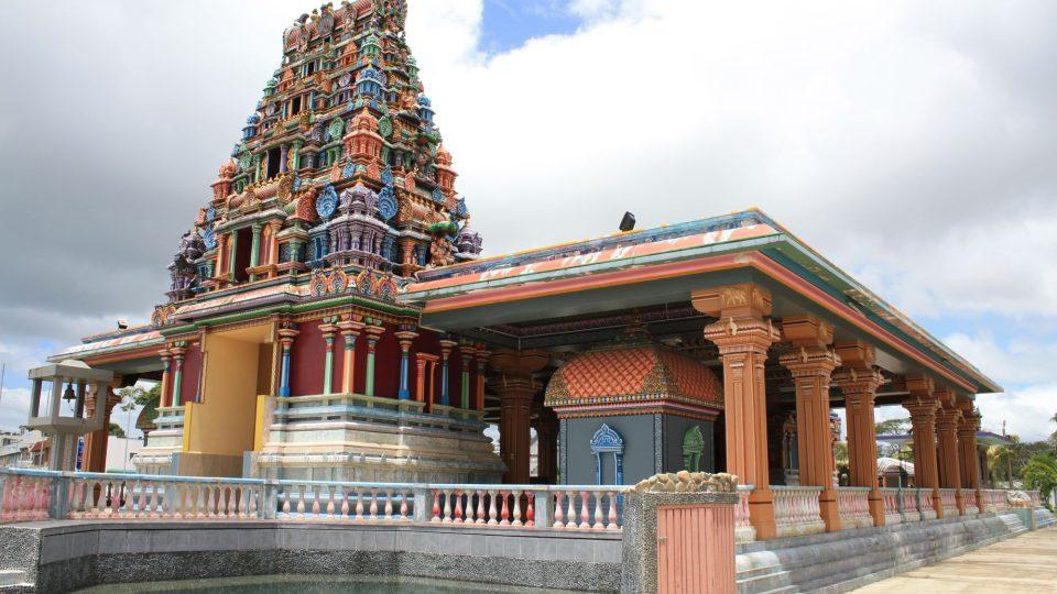 Fidži - Viti Levu- hinduistický chrám Sri Siva Subramaniya