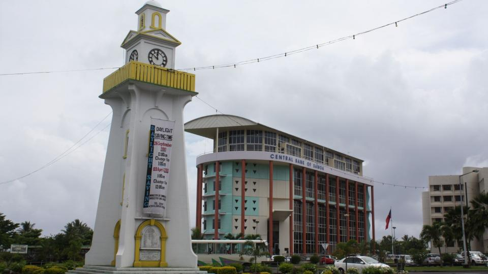 Samoa - hlavní město Apia na ostrově Upolu