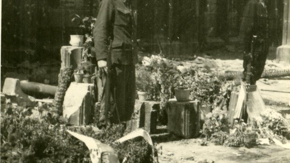 Praha v květnu 1945