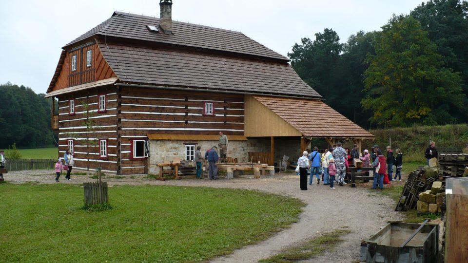 Bělečský mlýn ve skanzenu