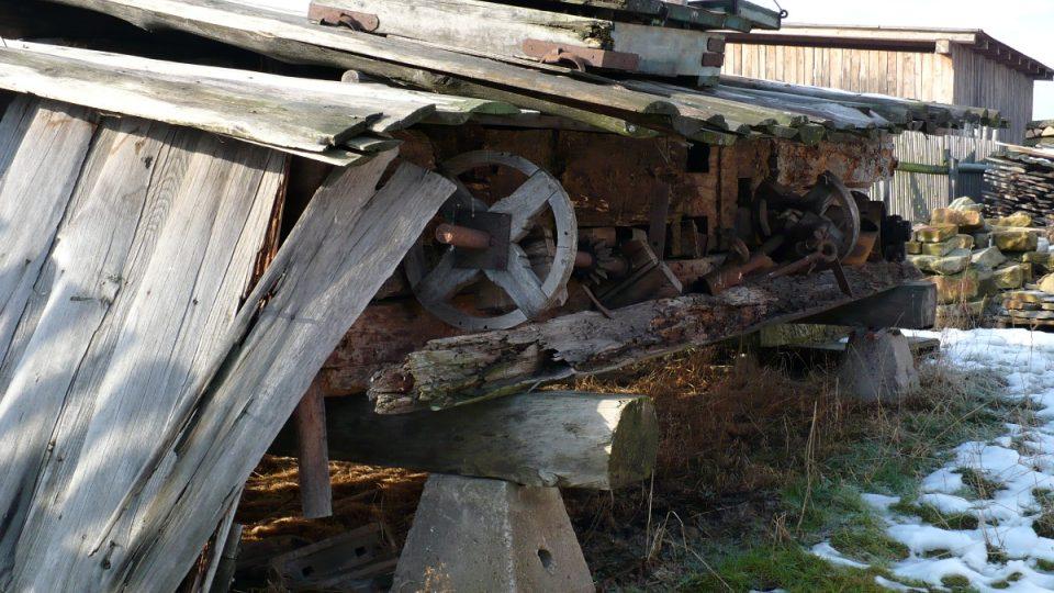 Původní prvky mlýna