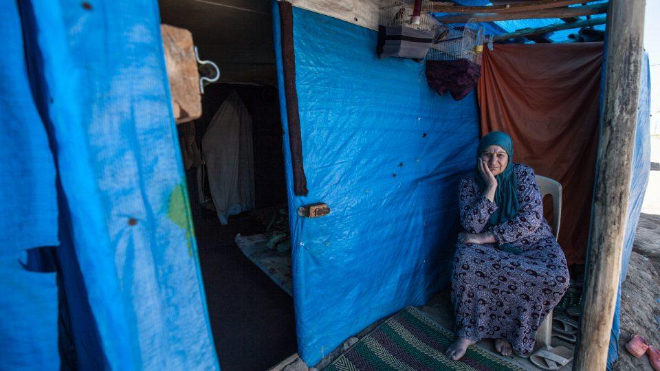 Potraviny jsou tady v kempu dokonce dražší, než v nedalekém hlavním městě Erbilu