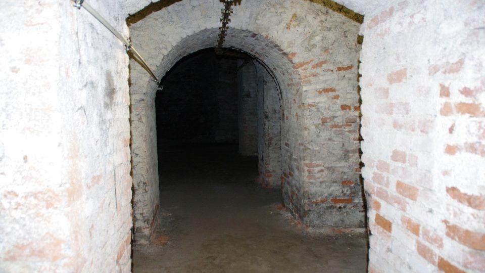 Nejstarší podzemní část Hradiska