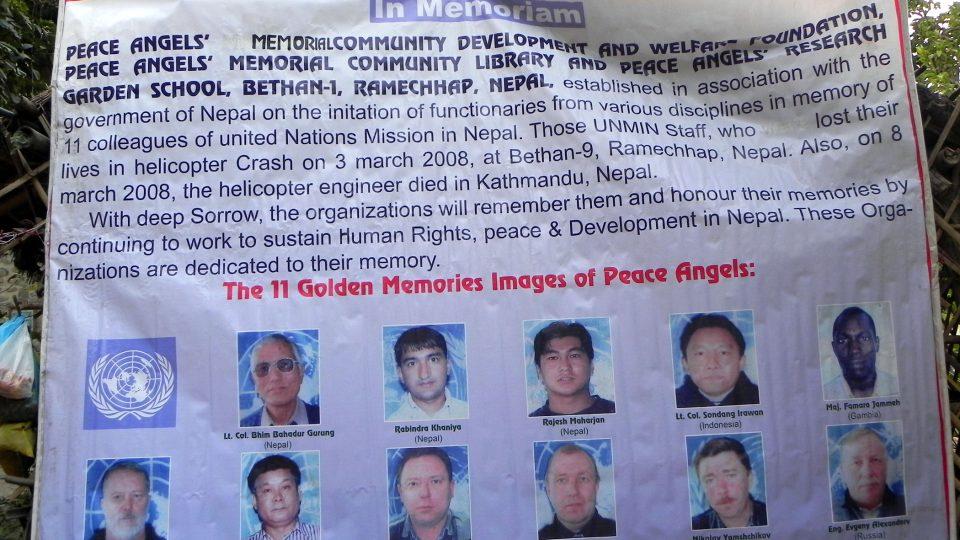 Dahú. Vaše pomoc poputuje i do této nepálské vesnice