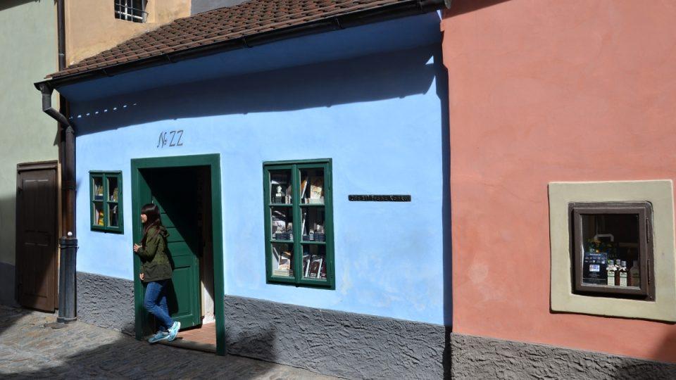 V domku číslo 22 žil Franz Kafka