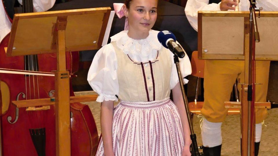 Stříbrný Český Zpěváček 2015 – Lucie Hácová, Pardubice